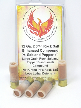 Rock Salt and Pepper Blast 12 Gauge 2 3/4