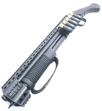 Black Aces Tactical Quad Rail Kit - Mossberg 590 Shockwave